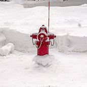 Hydrant cleared